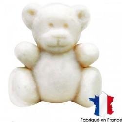 Plâtre miniature figurine Ourson, embellissement ornement, vendu à l'unité
