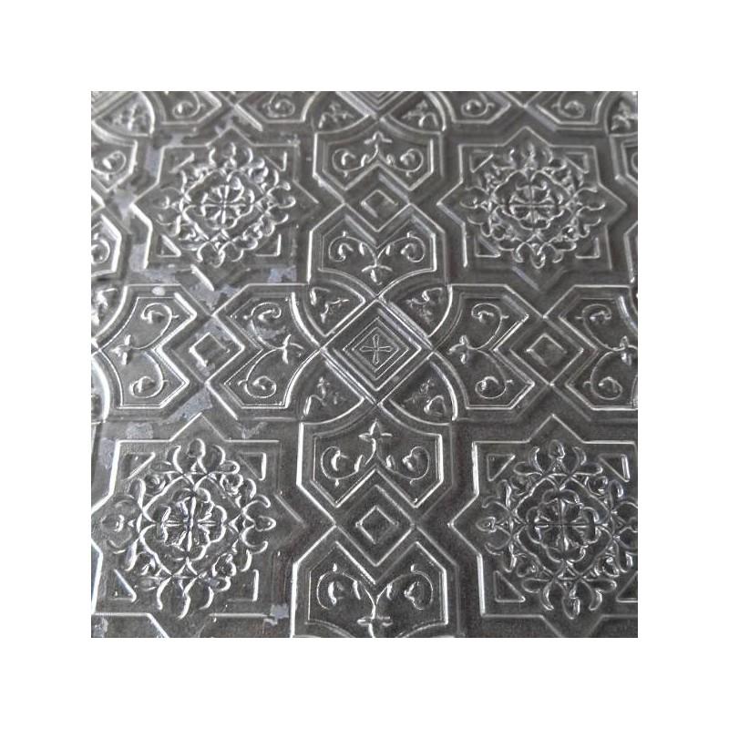 """Plaque de Texture  à relief  -  """"Oriental"""" (150 x 168 x 1 mm)"""