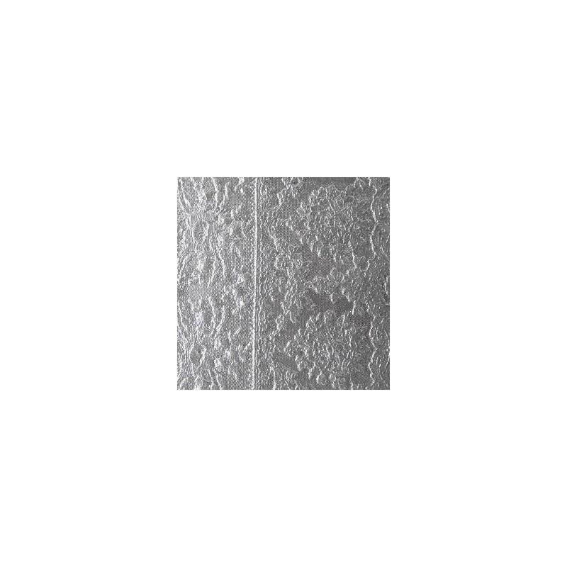 """Plaque de Texture  à relief  -  """"Dentelle"""" (150 x 168 x 1 mm)"""