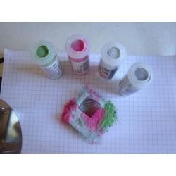 EFCOLOR Poudre Rose/Rouge couleur Fraise 10 ml