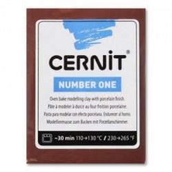 Pâte Cernit Number One (56 gr)  - Bordeaux  N°411