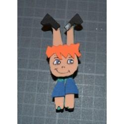 Plaque de Mousse Thermoformable orange 20 x 30cm