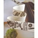 Galon Imprimé PARIS esprit Vintage couleur Sépia, vendu au mètre Utilisation : Couture, Atelier Déco & Scrap