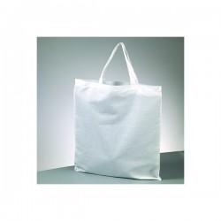 Sac 100 % Coton  - sac Cabas  ou sac de plage  Coloris : Blanc