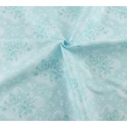 """Coupon Tissu imprimé style """"Shabby """" (Floral)  40 x 50 cm (vendu à l'unité)"""