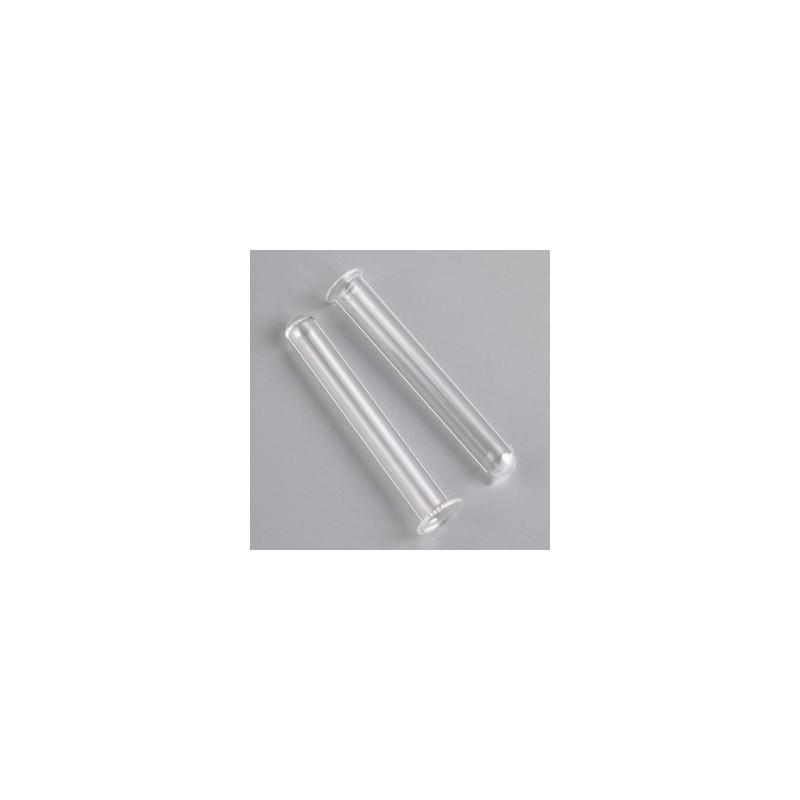 Soliflore, Tube en verre transparent (vendu par lot de 2)