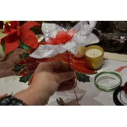Baguier en Bois Création de Bijoux, Décorations, Bagues (L 375 mm X diam. 12-24 mm)