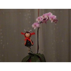 """Plaque de Mousse thermoformable Imprimé """"Primavera"""" Rose (Grand format : 60 cm x 40 cm)"""