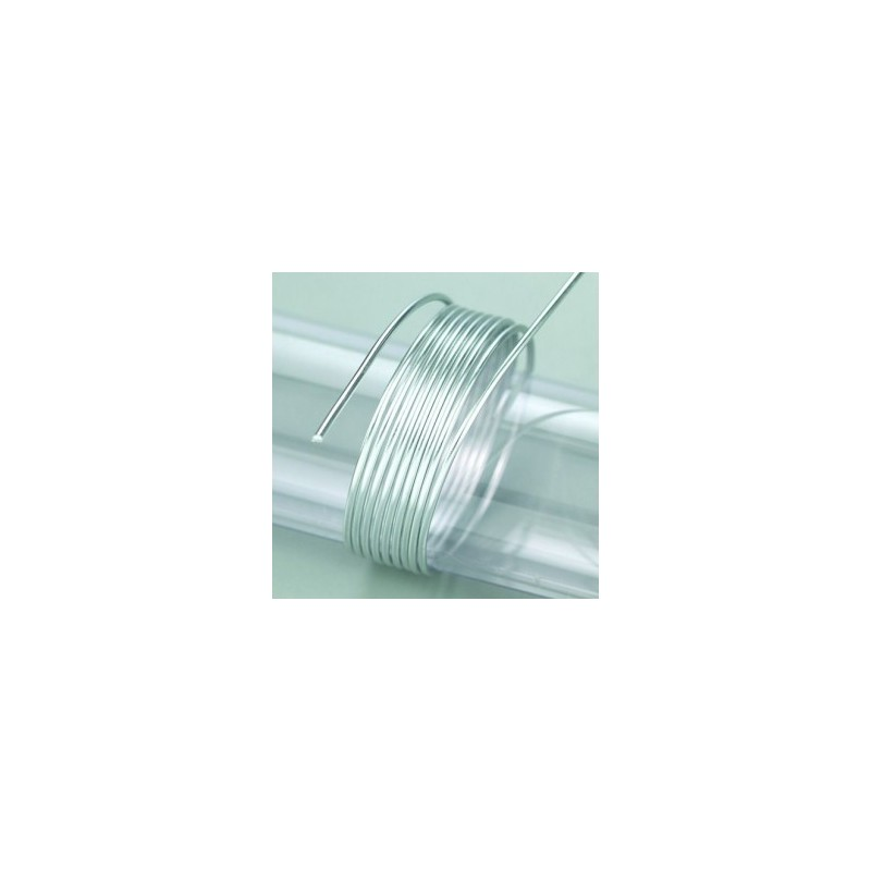 Fil aluminium  Ø 2mm diamètre Argent