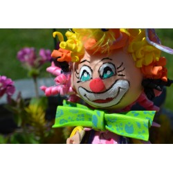 Patron - Gabarit pour Création Mini Fofucha Clown DIY Silence Elle Crée