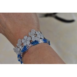 Perles  de rocailles irisées - Blanc - Bijoux et décoration  (Ø  2.6 mm)