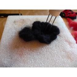 Manche pour 4 aiguilles de feutrage (utilisation avec la laine cardée)