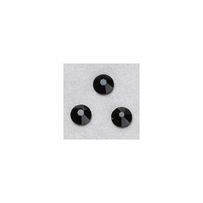 Strass SWAROVSKI Noir 4 mm ( 20 pièces)  Embellissements