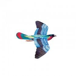 Oiseau Planeur Multicolore en Styro pour  Enfants (23 X 13 cm) (vendu à l'unité)