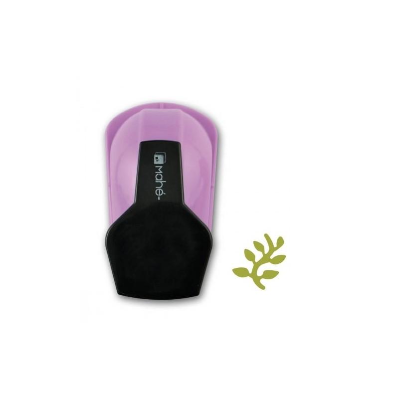 Perforatrice (S) petit modèle découpe mini feuillage motif : 1.5 cm