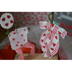 Perforatrice (S) petit modèle découpe mini fleur motif : 1.5 cm