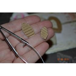 Ciseaux pincette de précision à pince courbée 12 cm, Acier inox titane qualité supérieure
