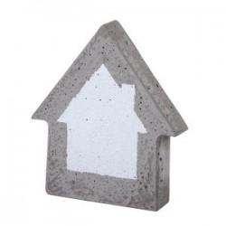 Moule aux 2 Maisons  Décorations (Dimension 13,5 x 16,5 cm)