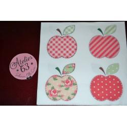 """Serviette en papier motifs : """"Pommes""""  (vendue à l'unité)"""