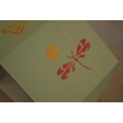 "Pochoir ""Plumes"" 4 motifs (17.5 cm)"