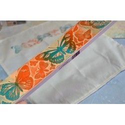 Encre Spéciale Textile coloris Orange    encreur  Ø : 7 cm