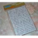 Tampon Aladine  impression textes Ecriture,  Grand Format