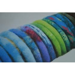 Bracelet Large en Bois A customiser (diamètre 70 mm - largeur 25 mm)