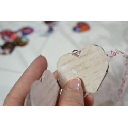 """Papier Scrap Double """"Esprit NOEL Pois Rouges & images"""" 30.5 X 30.5 CM -  1 feuille avec imprimé Recto Verso"""