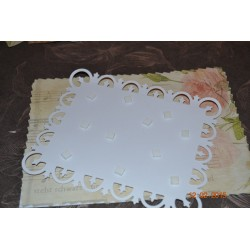 Carrés de mousse Adhésifs Double Face pour 3D - 3 mm/blanc (5 x 5 x 3 mm / 10 x 560 pces)