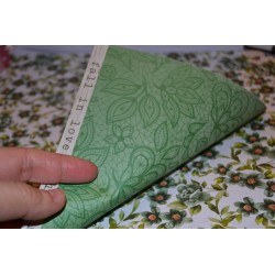 """Papier Scrap Double Esprit Romantique""""Jardin fleurs bleues """" 30.5 X 30.5 CM -  1 feuille avec imprimé Recto Verso"""
