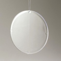 Paroi plastique transparent pour Boule 16 cm ou à en suspension,  grand modèle