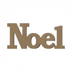 "Support à décorer en Médium  Mot à Poser ""NOEL"""
