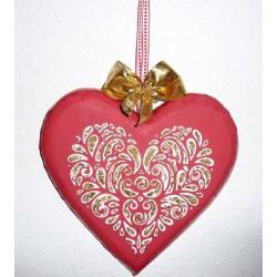 Support à décorer en Médium  Sapin Ajouré (A suspendre ou à poser)  Modèle Moyen 10 cm