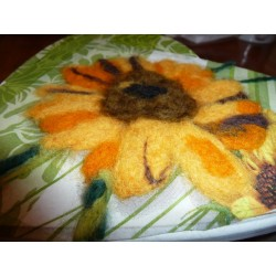 """Serviette  en papier motifs """"NOEL, Poinsettias""""   (vendue à l'unité)  30 x 30 cm"""