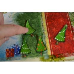 """Serviette  en papier motifs """"NOEL, Boules & Bougies""""   (vendue à l'unité)  30 x 30 cm"""