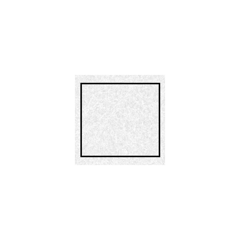 Coupon de feutrine Blanc Grand format  45 X 30 CM x 2 MM (vendue à l'unité)