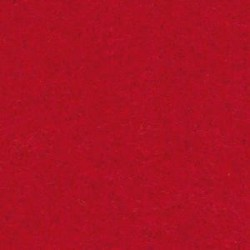 Coupon de feutrine Rouge  Grand Format 45X 30 CM x 2 MM (vendue à l'unité)