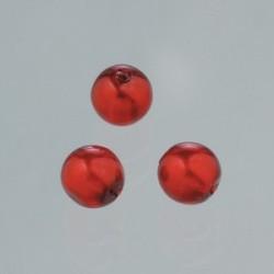 """Perles  en verre cirée effet Bleu """"Nuit""""  4 mm (boîte : 75 pièces)"""