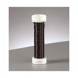 Fil de cuivre Noir ø  0.18 mm, 25 m