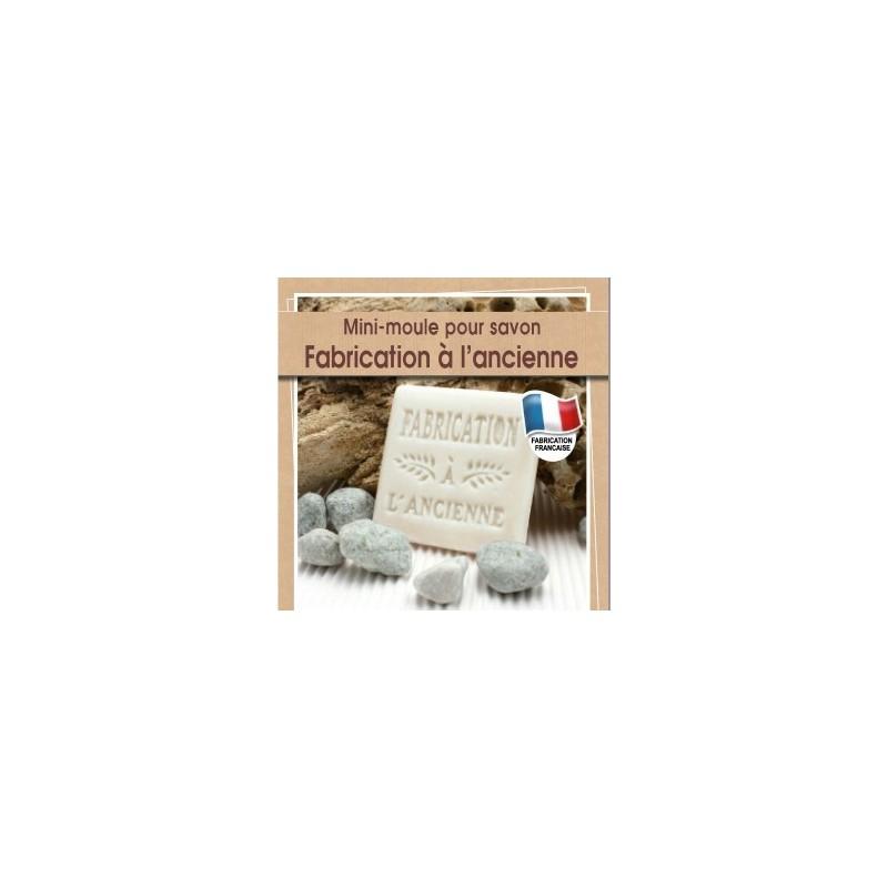 Moule mini  pour fabrication savon artisanal avec écriture Fabrication à l'Ancienne