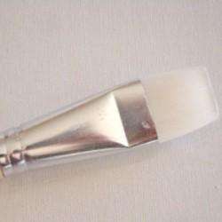 Pinceau Synthétique plat Souple N° 24 Gr. 24/24 mm