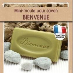 Moule Mini pour fabrication savon avec écriture 100 % naturel