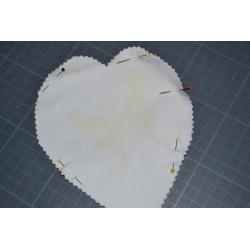 Fil Blanc Bobine pour machine à coudre ou travaux à la main (500 m)