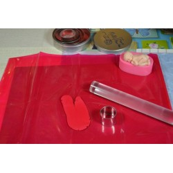 Tapis de Protection, Tapis de Modelage ( vendu avec 1 spatule de travail)