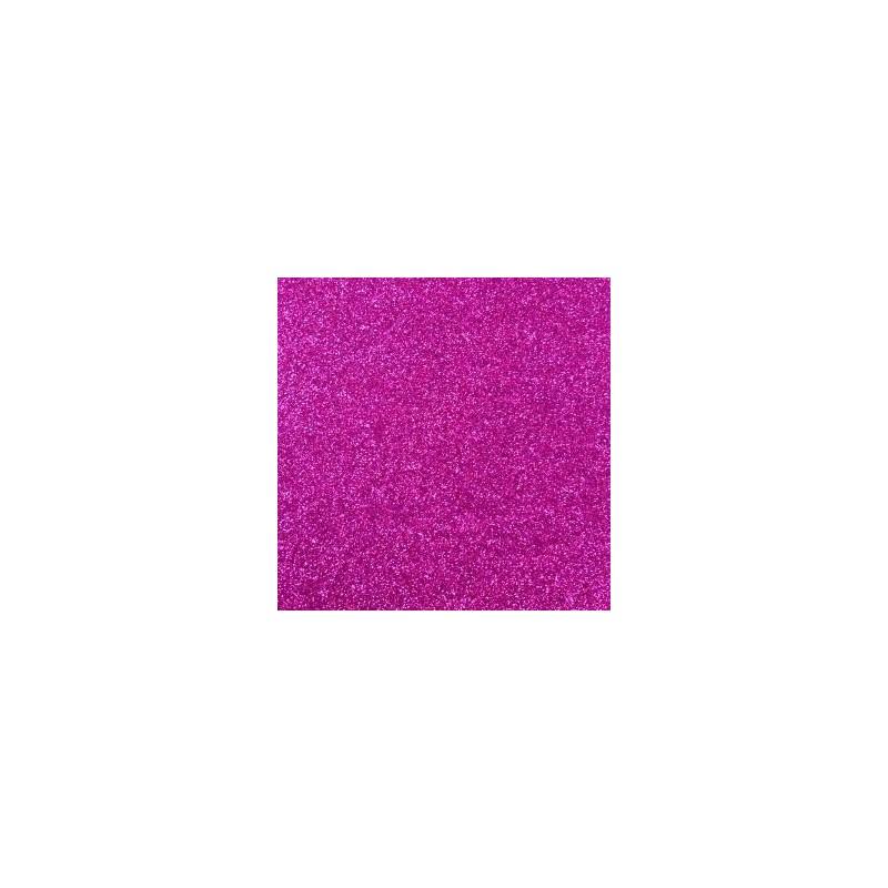 Plaque de Mousse pailletée Fushia - Petit Format (30 cm x 20 cm)