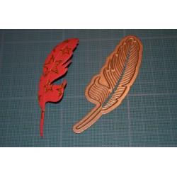 Plaque de Mousse pailletée rouge - Petit Format A4  (20 cm x 30 cm)