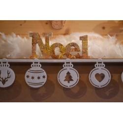 Poudre Paillettes Fines Effet Cristal, effet Givré et Scintillant DEKO ICE Coloris Jaune pot 40 Gr