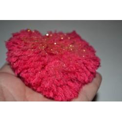 Laine à Tricoter/Crocheter & plus, Coloris : Rose Layette 100% laine BIO de mouton (Echeveau : 100 gr, 400 m de fils)