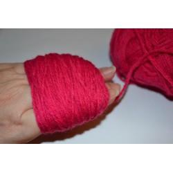 Laine à Tricoter/Crocheter & plus, Coloris : Bleu Marine 100% laine BIO de mouton (Echeveau : 100 gr, 400 m de fils)