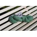 Laine à Tricoter/Crocheter & plus, Coloris : Vert D'eau 100% laine BIO de mouton (Echeveau de 100 gr, 400 m de fils)